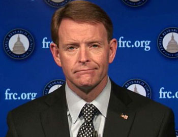 Tony Perkins, head of SPLC designated Hate Group, The FRC