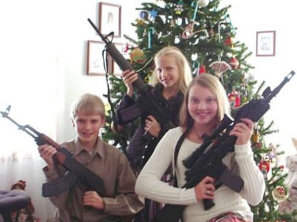 funny christmas cards second amendment christmas deep something