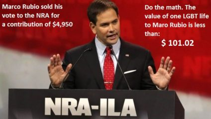 Rubio at NRA
