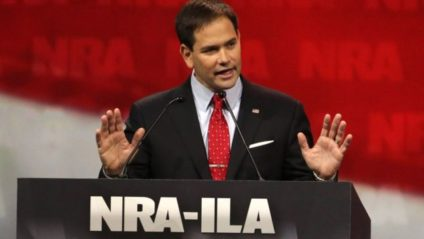Little Marco Rubio at the 2014 NRA Convention