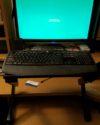 Hybrid Standup Desk