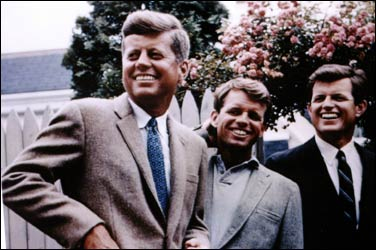 John, Robert and Ted Kennedy